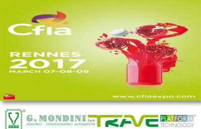 CFIA Rennes 2017 - Hall 2 Stand B14